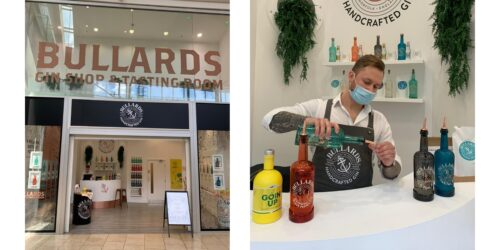 Gin shop and tasting room - try Bullards gin in store